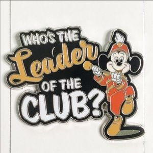 Disney Accessories - Leader of Club Pin